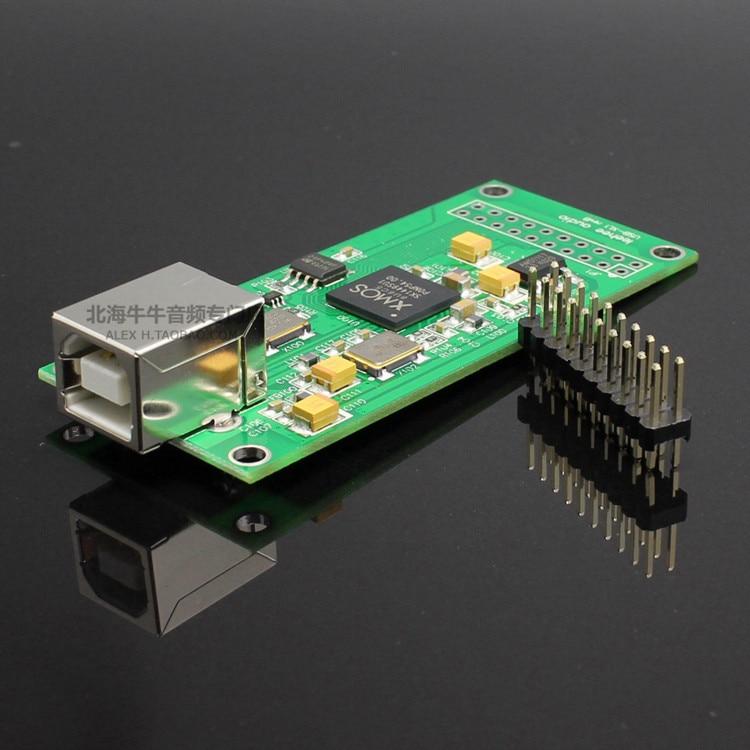 New LeeHee XL1 XMOS U8 asynchronous USB module I2S output DSD PCM Upgrade DAC