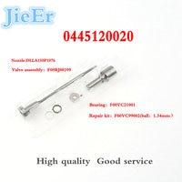 DEFUTE  F00RJ03586 Fuel Injector Nozzle DLLA150P1076 Control Valve F00RJ00399 Overhaul Spare Part Repair for 0445120019 04451200