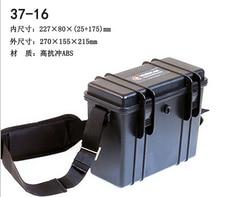 270X155X215 MM ABS Strumento caso toolbox resistente Agli Urti attrezzature sigillato impermeabile cassa della macchina fotografica con pre-cut foam e cinturino