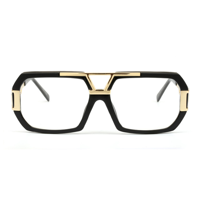 Online Shop Peekaboo Newest stylish brand square frame glasses ...