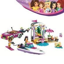 Bela Compatible Legoe giftse Девушки Друзья Heartlake Спидометр Andrea 314pcs 41316 Строительные блоки Кирпичи Игрушки для детей