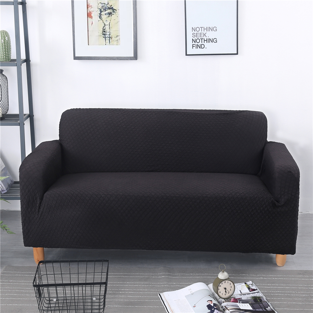 Jacquard Spandex Elastic Slipcovers Thick Sofa Covers Sectional Sofa Cover Stretch All inclusive Sofa Towel Couch