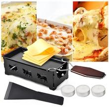 Швейцарские сырные жаровни практичные гаджеты с деревянной ручкой мини антипригарный противень для выпечки Сырная печь инструменты для барбекю