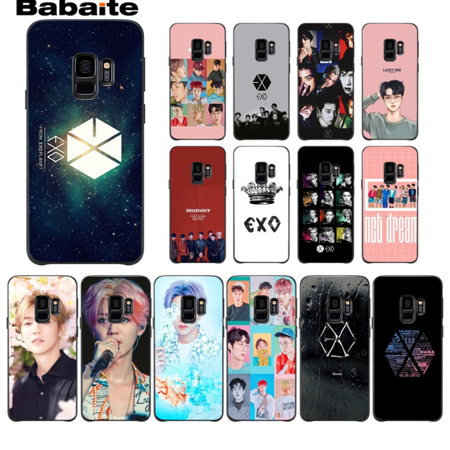 new style 956d6 61a58 US $0.98 24% OFF Park Chanyeol EXO Star KPOP EXO LUCKY ONE TPU Phone Case  For Samsung Galaxy s9 s8 plus note 8 note9 s7 s6edge funda Babaite-in ...