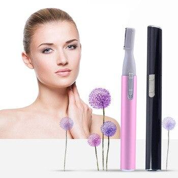 2pcs Body Shaver Razor Epilator Mini Electric Eyebrow Trimer Clipper Shape Hair Remover Cutter Makeup Tools Razor Male Female