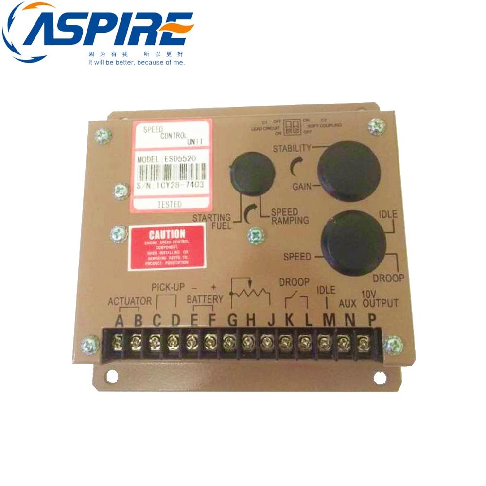 Generator Speed Controller ESD5520Generator Speed Controller ESD5520