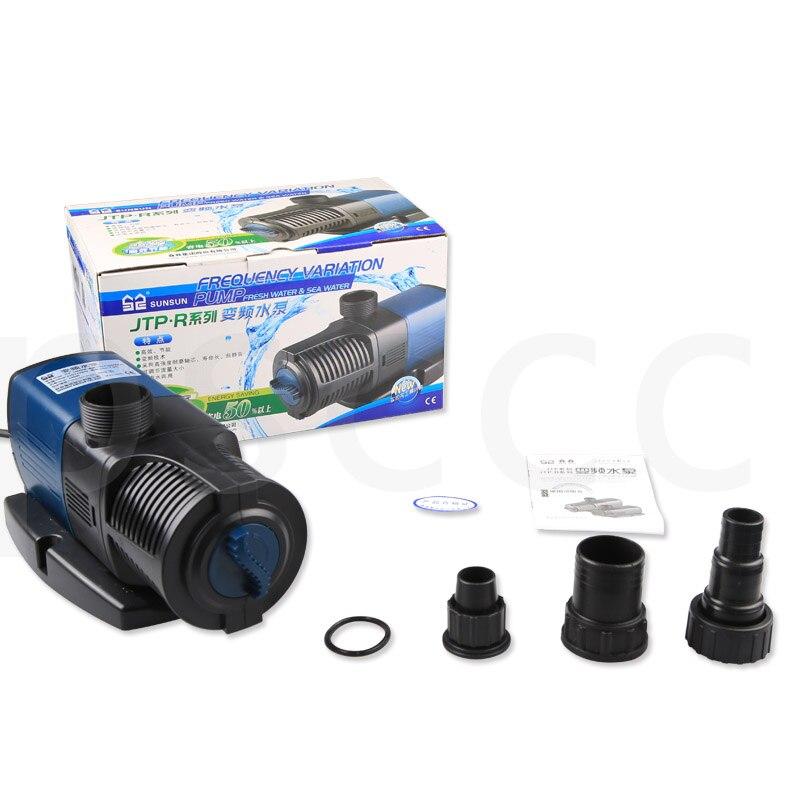 140 W 16000L/H 7.5 m pompe de conversion de fréquence haute efficacité économiseuse d'énergie super silencieuse pompe à eau submersible JTP 16000 R-in Filtres et accessoires from Maison & Animalerie    1