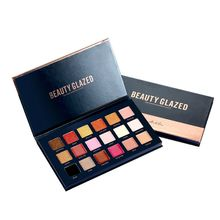 18 Color Cosmetic Matte Eyeshadow Makeup Palette Pigmented Glitter Eyeshadows Ultra Nude Palettes