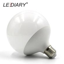 LEDIARY Hot Design G120 E27 LED Bulb Real 20w Power D120mm*H155mm Global Light 200V-240V Ball Light for Chandelier Pendant Lamp