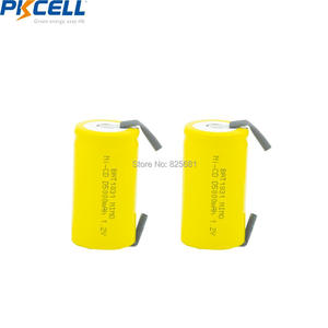 Image 2 - 5 adet PKCELL güzel 1.2V şarj edilebilir piller D 5000mAh NI CD şarj edilebilir pil ile düz üst kaynak parçası elektrikli bisiklet