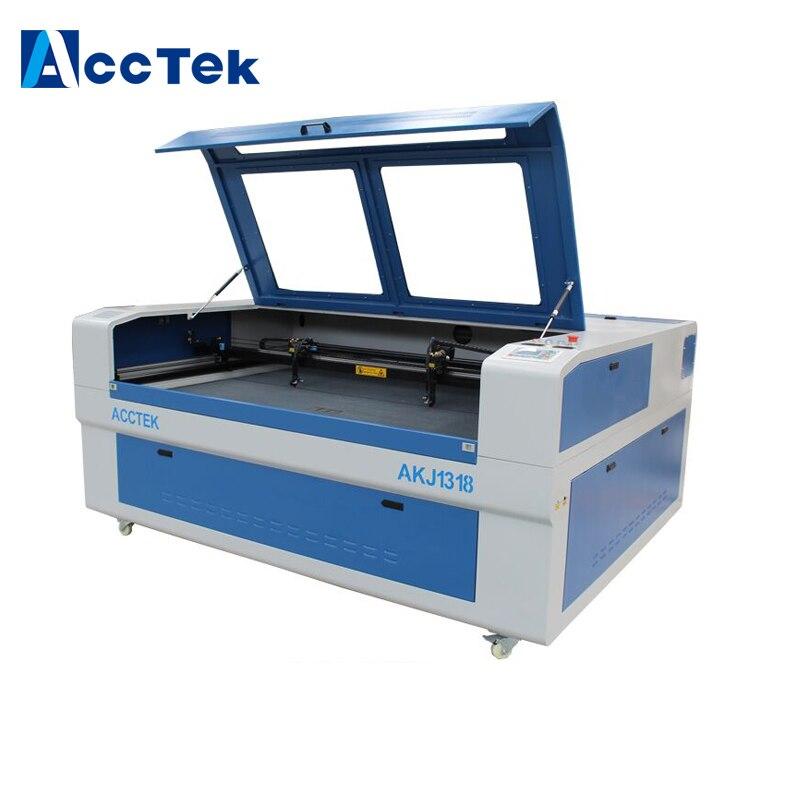 AKJ1318 СО2 лазерный гравировальный станок с ЧПУ лазерный станок с ЧПУ AKJ1318 горячая Распродажа лазерный станок с ЧПУ 1318