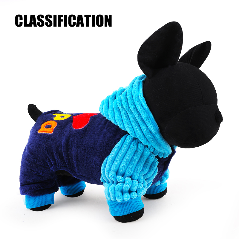 2017 Petcircle Fashion I love papa and mama winter Pet Dog Clothes Clothing For Pet Small Large Dog Coats Jackets for chihuahua
