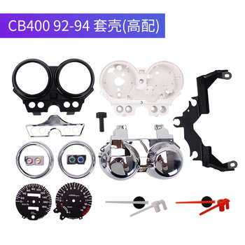 цена на Motorcycle Instrument Case Kit Speedometer Gauge Cover For Honda CB400 CB 400 92 93 94 1992 1993 1994 1995 1996 1997 1998