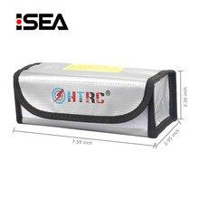 HTRC Lipo sécurité garde batterie garde charge Protection anti déflagrant sac pochette protecteur résistant au feu Lipo batterie sac