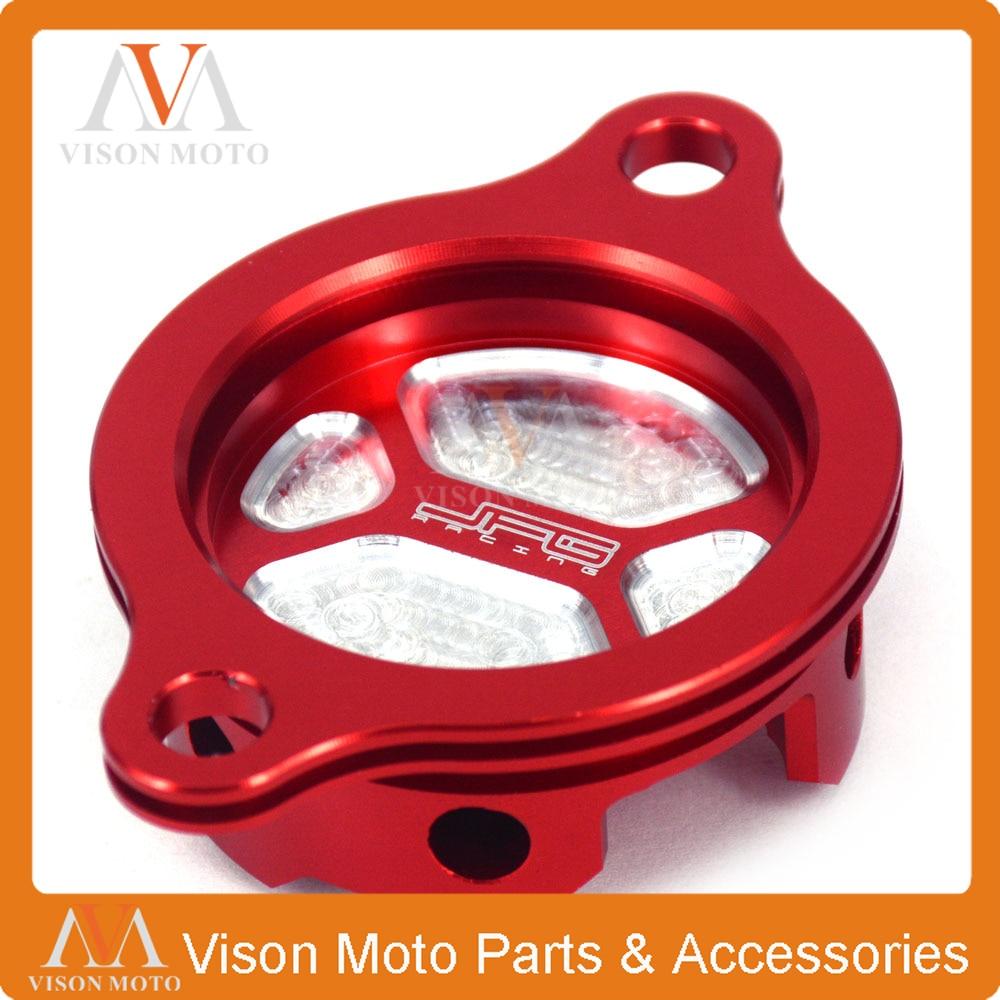 CNC Motorcycle Billet Oil Filter cap Cover For Honda CRF250R 2010 2011 2012 2013 2014 2015 2016 2010-2016 Dirt Bike