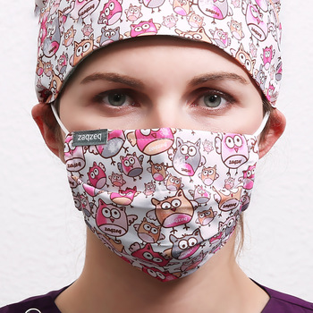 9 цветов, маски для рта, рабочие маски, анти-Пылезащитная маска для рта, ветрозащитная печать для женщин, 95% полиэстер, 5% спандекс, тканевая маска 1