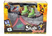 Fingerboard finger skateboard skate skating shoes pulley originality novel intellectual toy Tech Skateboard Stunt Ramp Deck