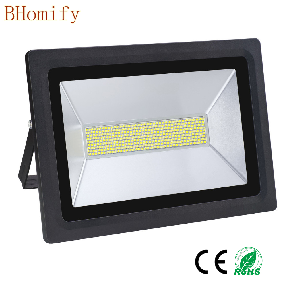 LED Flood Light 100w 150w 200w 300w 500w Floodlight IP65 Waterproof AC 170-265V LED Spotlight Refletor Gargen outdoor Lighting стоимость