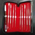 Equipamento de Laboratório Dental Cera Escultura Conjunto De Ferramentas Kit de Ferramentas de Escultura Faca Instrumentos Cirúrgicos Dentista