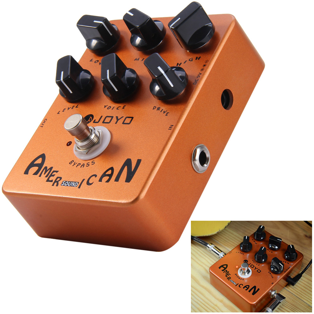 joyo jf 14 true bypass design american sound amp simulator electric guitar effect pedal with. Black Bedroom Furniture Sets. Home Design Ideas