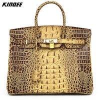 Luxury Handbags Women Bags Designer Famous Brands Purses Genuine Leather High Quality 30CM 35CM Crocodile Alligator Niloticus