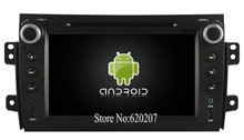 S160 Android 4.4.4 CAR DVD player FOR SUZUKI SX4 2006-2014 car audio stereo Multimedia GPS Quad-Core