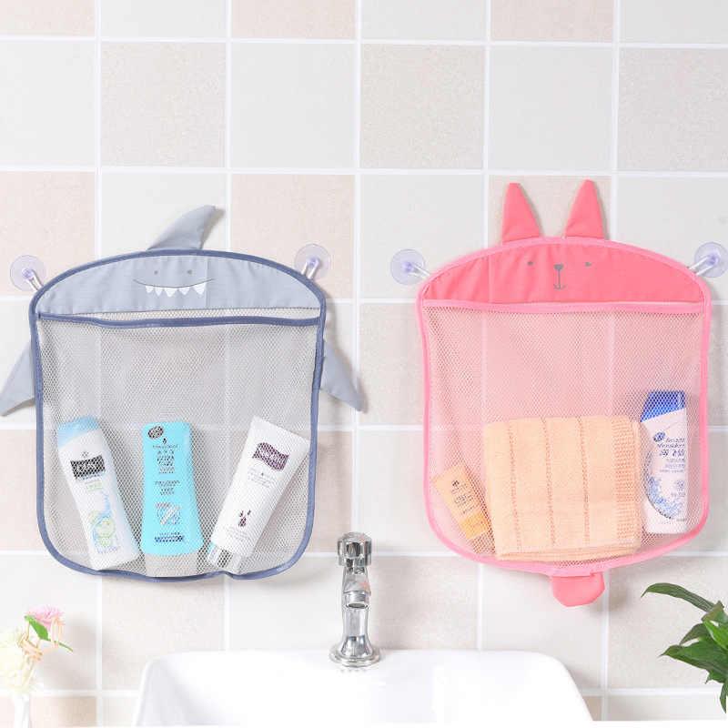Caroon кролик ребенок для хранения игрушек для ванной сумка органайзер Полезная сетка корзины на присосках дети ребенок ванная комната Сетчатая Сумка игрушки