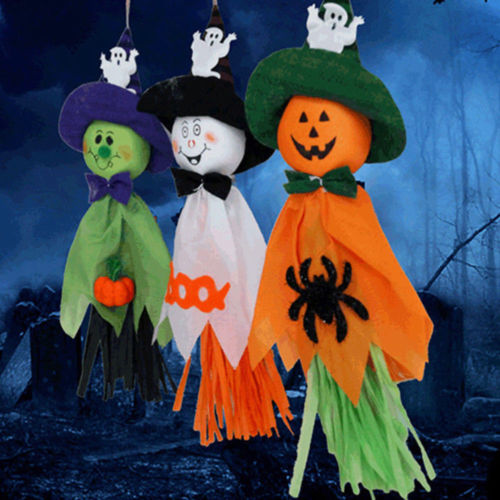 Image 3 - Halloween Ghost Hanging Decoration Indoor/Outdoor Specter Party Ornament Utility-in Party DIY Decorations from Home & Garden