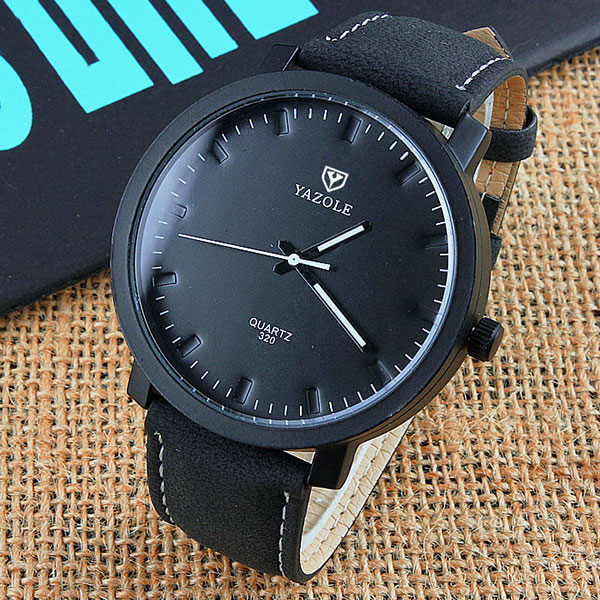 YAZOLE Fashion Quartz Watch Men Top Brand Luxury Famous New 2018 Wrist Watches For Man Clock Male Wristwatches Relogio Masculino baosaili fashion wrist watch men watches brand luxury famous male clock women unisex simple classic quartz leather watch bs996