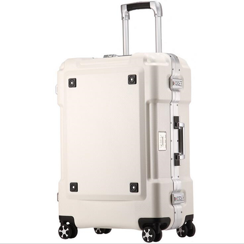 20 24ll Aluminum Luggage Hardside Rolling Trolley Luggage Travel Suitcase 20 Carry on Luggage sindermore aluminum luggage suitcase 20 25 29 carry on luggage hardside rolling luggage travel trolley luggage suitcase