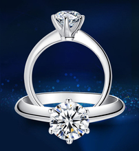 Big 95% OFF!!! White Gold Filled Rings Set 1 Carat Sona CZ Diamant Engagement Rings 18KRGP Gold Wedding Rings For Women YJR018