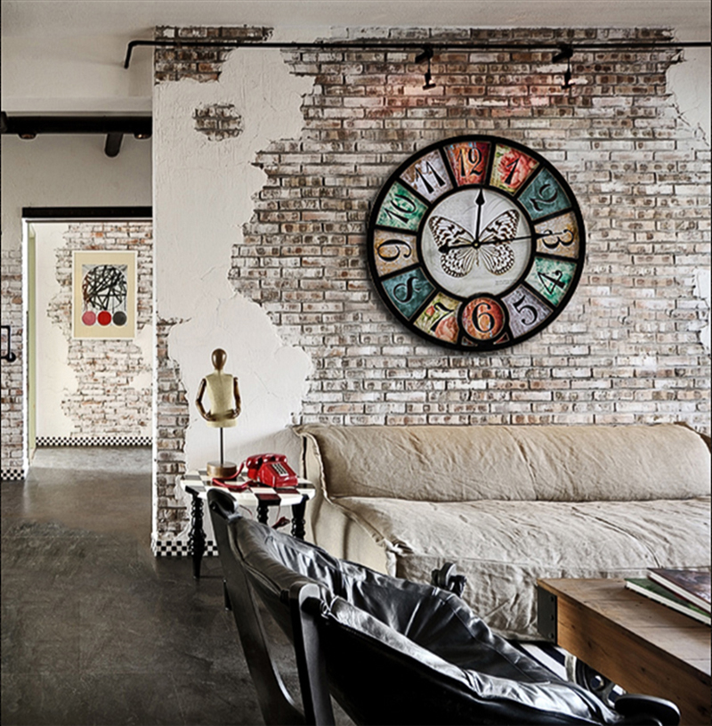 wall clock retro (11)