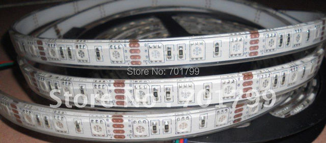 5m(one roll) 5050 SMD 60LEDs/m led strip,waterproof by silicon tubing and coating;;can be used underwater;IP68