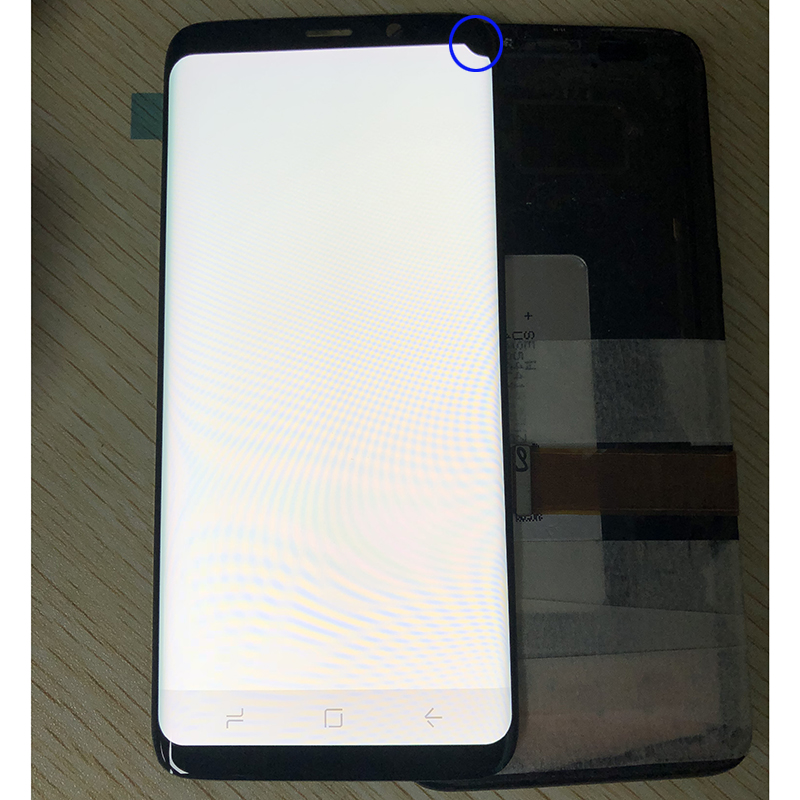 S8 Plus AMOLED remplacement pour samsung galaxy s8 s7 bord s9 s9 plus note 8 lcd diplay écran tactile digitizer assemblée vente prix