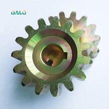цена на GALO steel gear pinion for sliding gate motor 15 teeth for KMP101 102 202