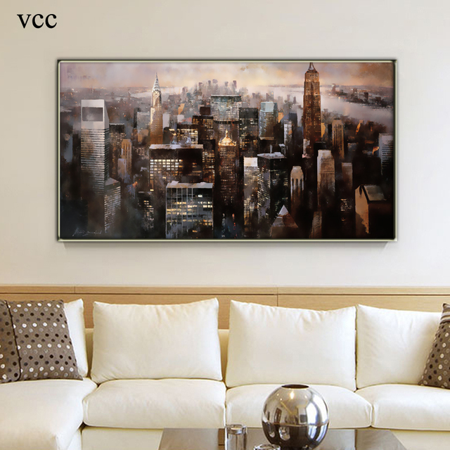 VCC Modern Wall Art Canvas PaintingWall Pictures For Living Room