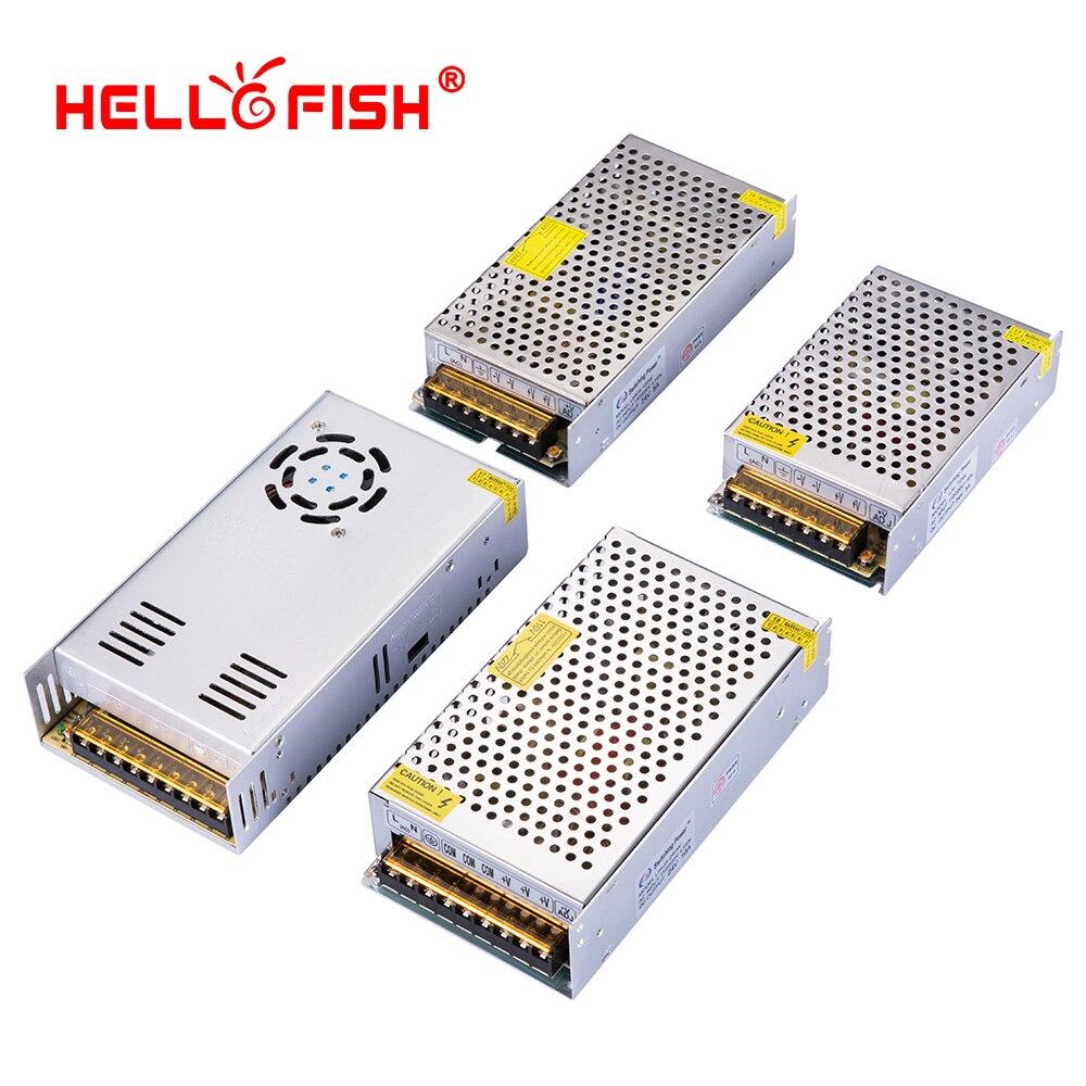 24v alimentation à découpage ac dc convertisseur alimentatore commutation ac-dc 220V 230V à 24v 3a 5a 10a 15a Hello Fish