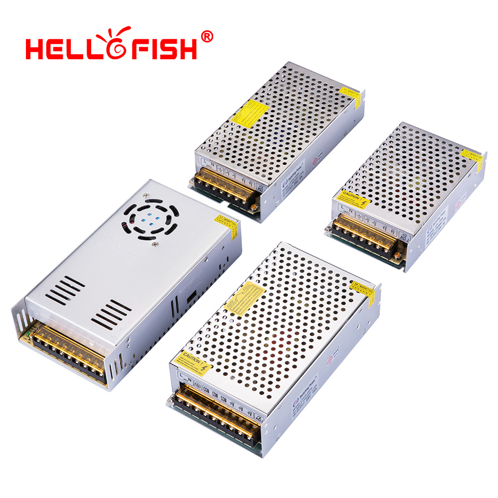 ac dc 24v switching power supply ac dc converter alimentatore switching ac-dc 220V 230V to 24v 3a 5a 10a 15a Hello Fish aifeng dc 24v switching power supply 1a 2a 3a 5a 15a 25a power supply switching power ac 110v 220v to dc 24v for led strip light