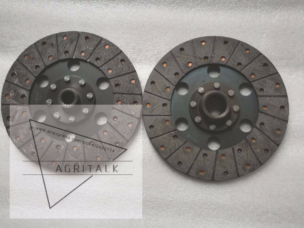 все цены на Shandong Taishan KM554 tractor, set of clutch disks with release bearing, diameter 280mm with 16/25 splines, part number: онлайн