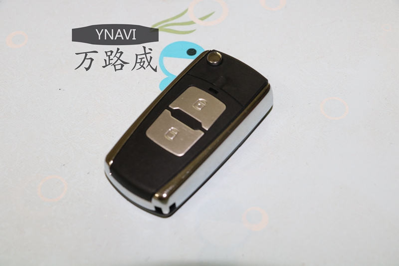 Ynavi Replacement Fob 2 Buttons Flip Folding Remote Key
