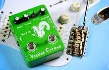 JOYO JF-12 Voodoo octave guitar effect audio bass diy effect pedalsfuzz Fauzi все цены