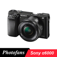 Sony A6000 Mirrorless Digital Camera ILCE 6000L with 16 50mm Lens 24.3MP Full HD Video Brand New