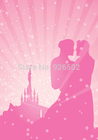 Thin Fabric Cloth Printed Photography Background Castle Backdrop 5ft X 7ft D 2992