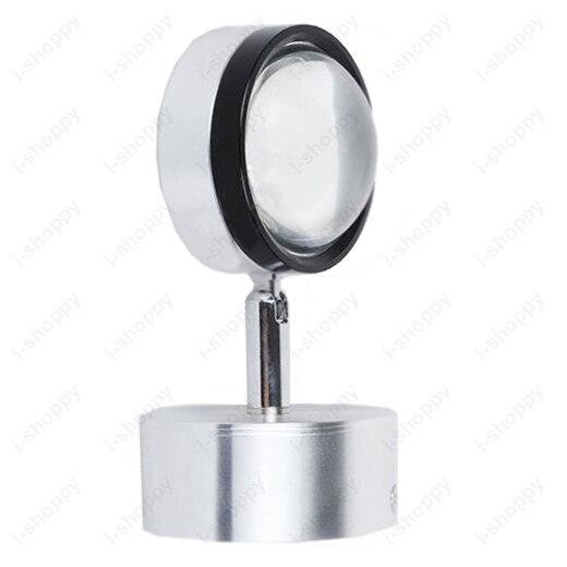 Kristall 3 Watt LED Wandleuchte Lampe Scheinwerfer Downlight Modernes Dekor Deckenleuchte Kit Einstellbar Wohnzimmer Disco Hotel