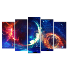Canvas Painting Picture Wall Art Picture Home Decor Painting Abstract Celestial Collisions Picuture Art Poster And Prints