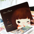 10Pcs Korean Stationery Cute Cookie Girl Niuzai Cartoon Mouse Pad Mouse Pad Creative Mouse Niuzai Free Shipping