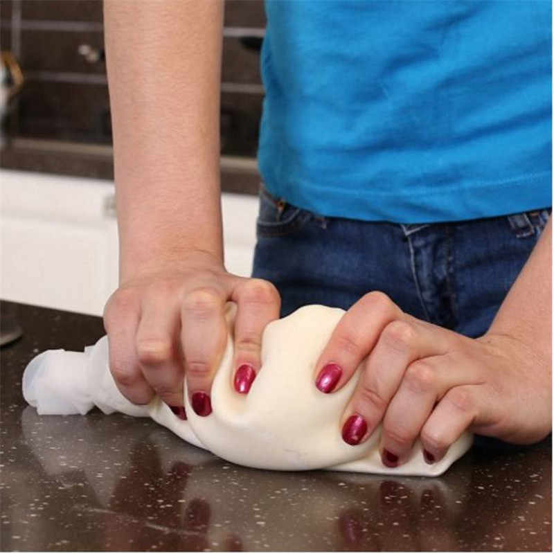 DIY Инструменты для приготовления кондитерских изделий Мягкий фарфор силиконовый сохранение Волшебная разминающая мука для теста-мешалка изготовитель коржей для пиццы ролик DA