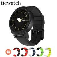 Подарок ремень Ticwatch E умные часы с WiFi gps спортивные Smartwatch Android Wear OS MT2601 двухъядерный IP67 Водонепроницаемый Bluetooth 4,1
