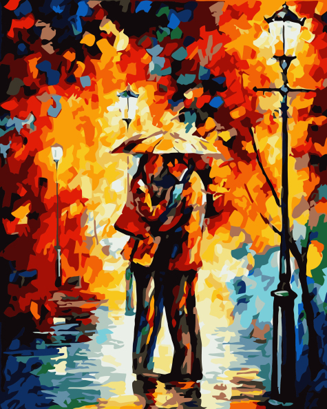 Frameless Digital Oil Painting Wedding Gifts Gift 40 50 Lover By Numbers Unique