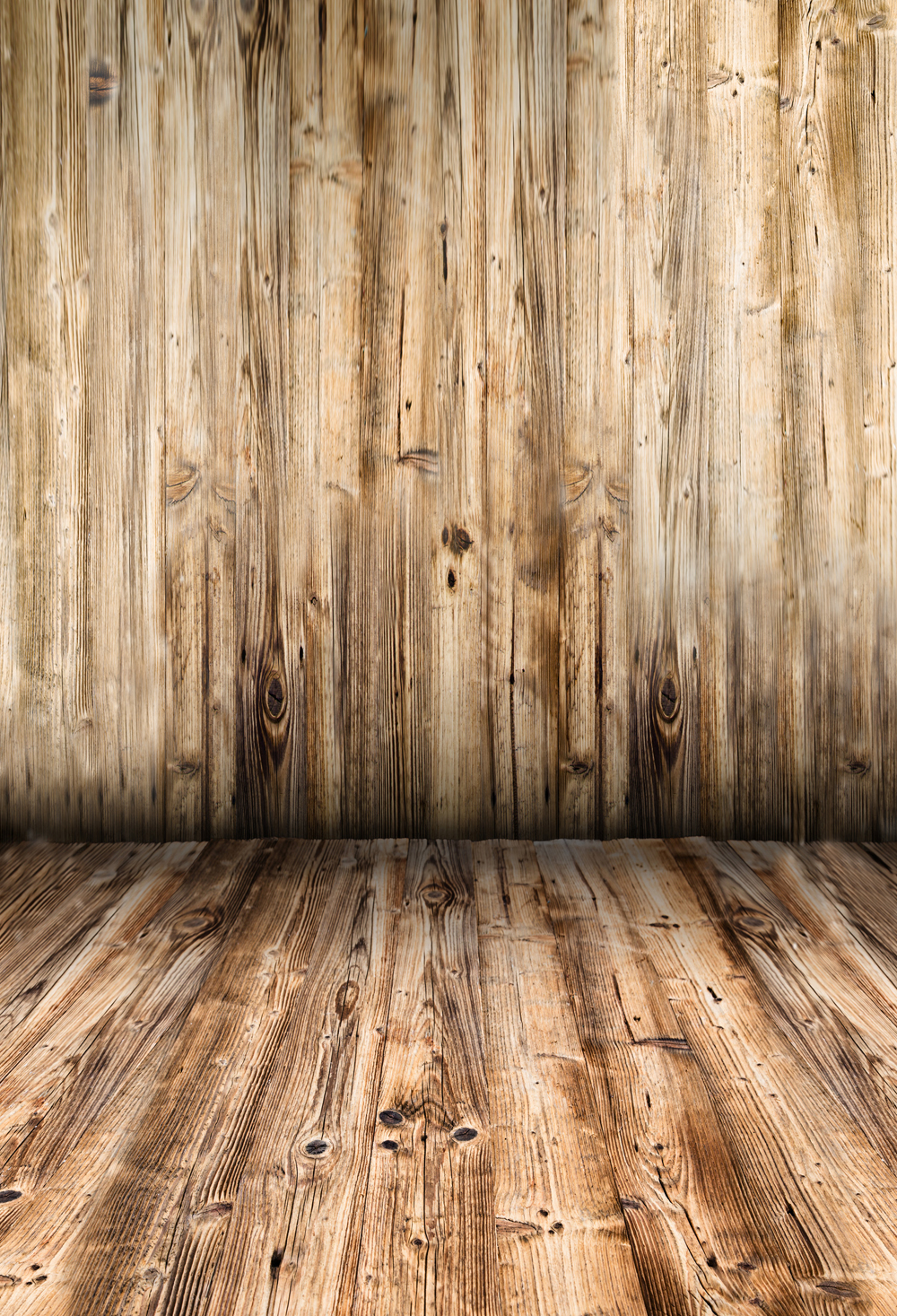 HUAYI Background Art Fabric Brown Wooden Floor Backdrop Photography For Newborn Background XT-5711